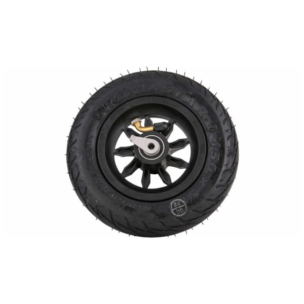 6 INCH WHEEL BLACK WITH REVERSE-LOCK 9SB-RS-RLS