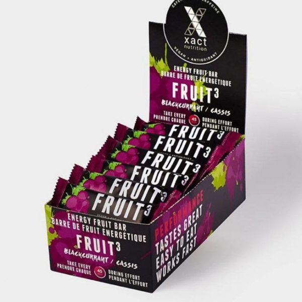 FRUIT3 BLACKCURRANT BOX OF 24 BARS